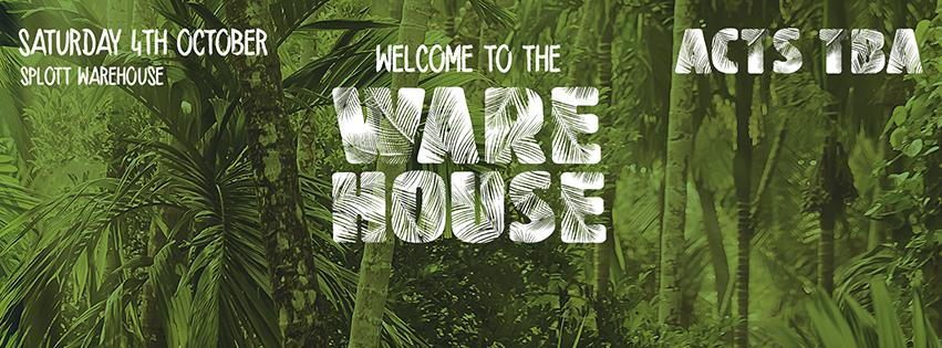 welcome to the warehouse tickets cardiff splott market september 2014