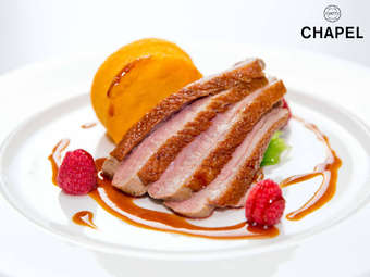 The Chapel 1877 restaurant discount voucher Cardiff
