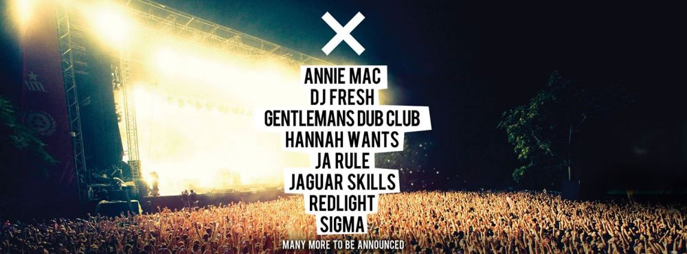 x music festival cardiff lineup headlined by annie mac