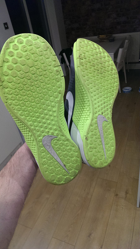 nike metcon 1 crossfit shoe after first wear