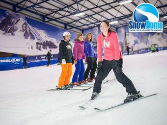 snowdome discount indoor snowboarding and skiing lesson birmingham