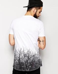 friend or faux white trees tee