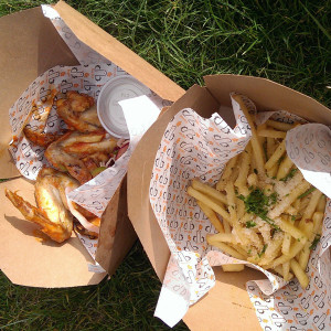 dirty bird hot wings and posh fries