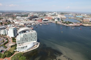 st davids hotel and spa discount afternoon tea in cardiff with views of the bay