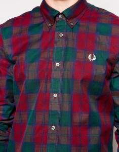 Fred Perry Shirt in Tartan Check