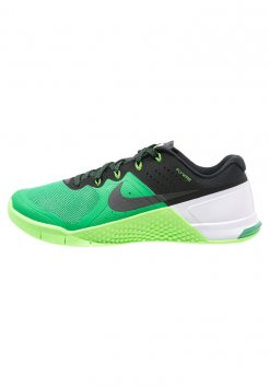 Green Nike Metcon 2 footwear in the UK