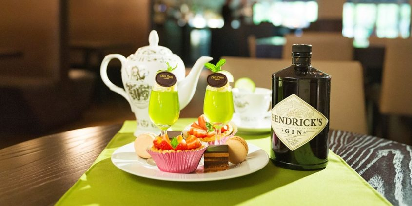 Park Plaza Hendricks G and Tea afternoon tea discount voucher