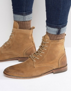 Hudson Swathmore Suede Lace up Boot