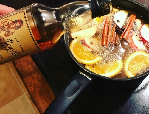 The best mulled cider and spiced rum recipe