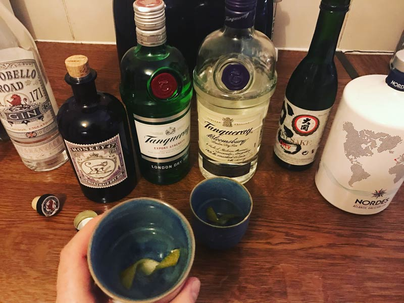 gin sake martini cocktail