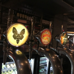 The beers on tap at Kongs Cardiff