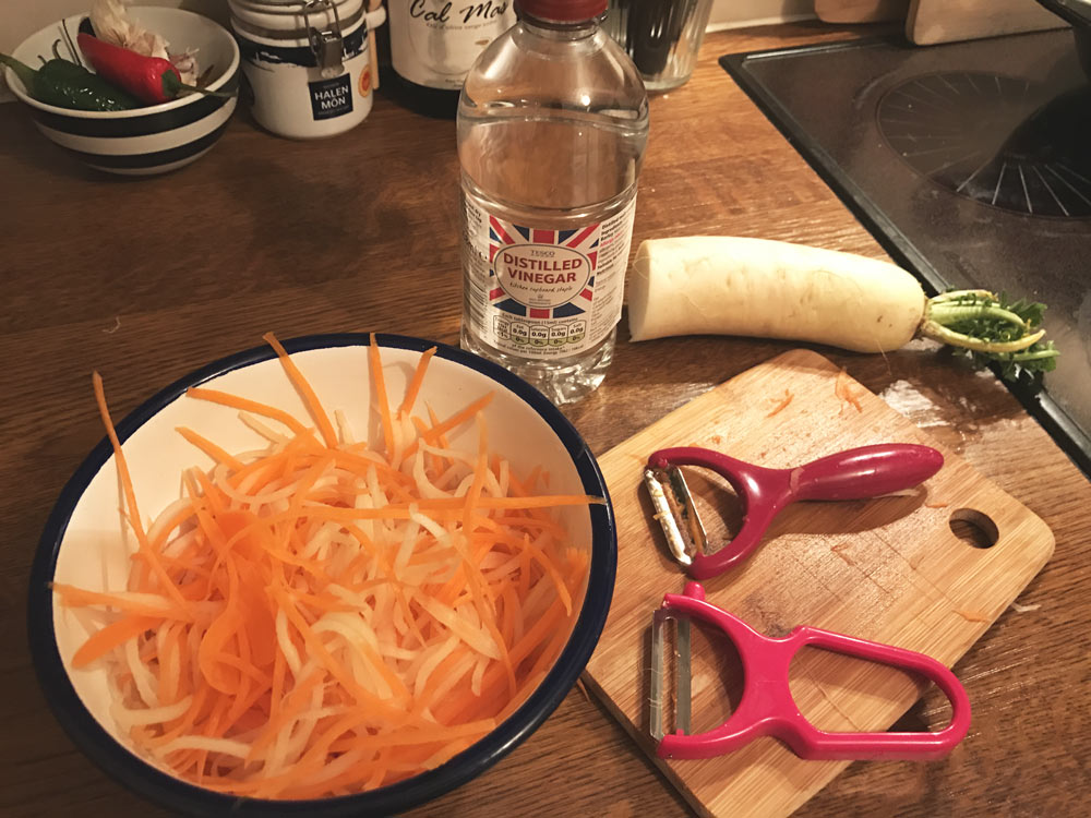 carrot and daikon pickle recipe