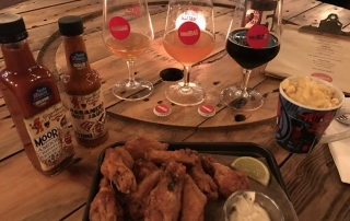 wing wednesday review at Small Bar Cardiff