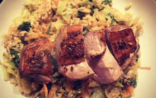 wholegrain egg fried rice recipe