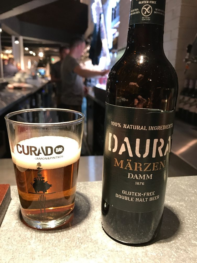 Spanish beer Curado Cardiff