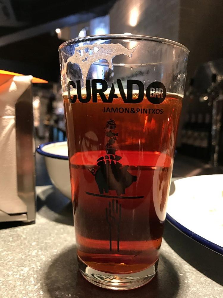 Spanish seawater beer Curado Cardiff