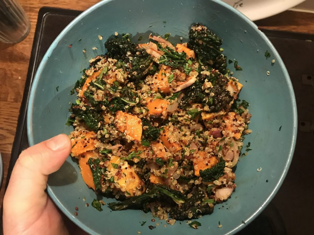 quinoa and butternut salad recipe