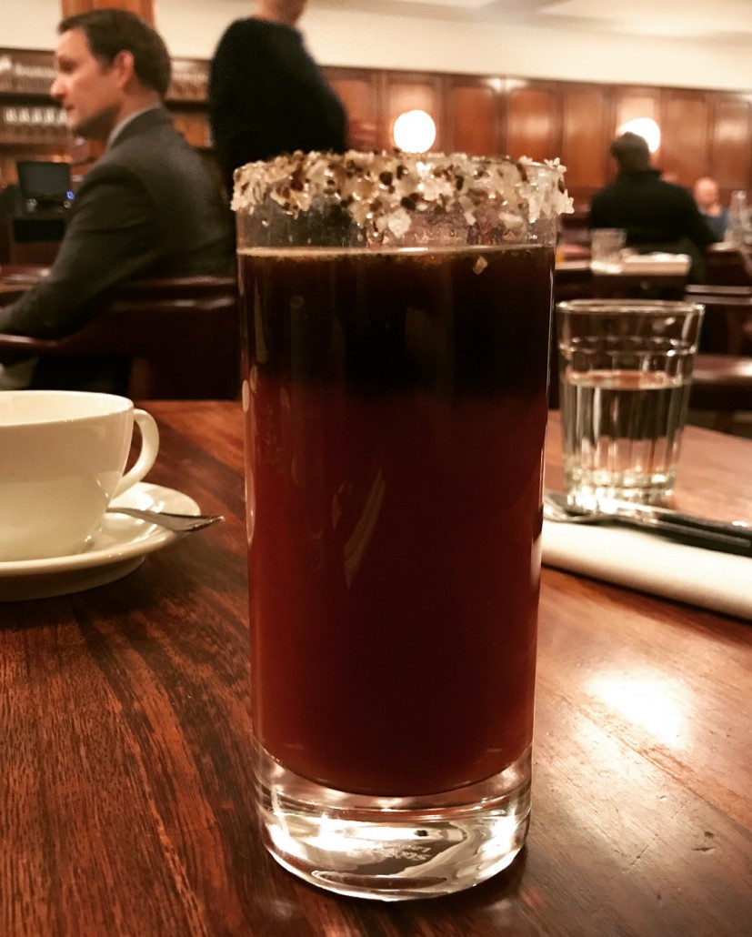 Bloody Mary No. 47 at Hawksmoor Guildhall