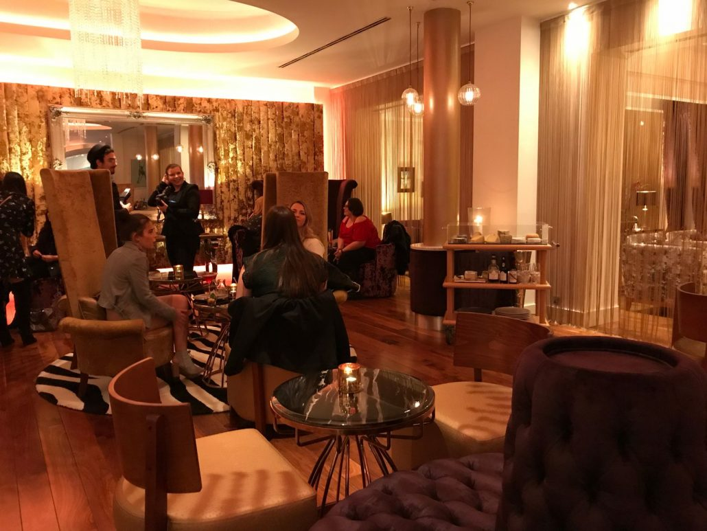 Mulberry Bar cocktail lounge Celtic Manor