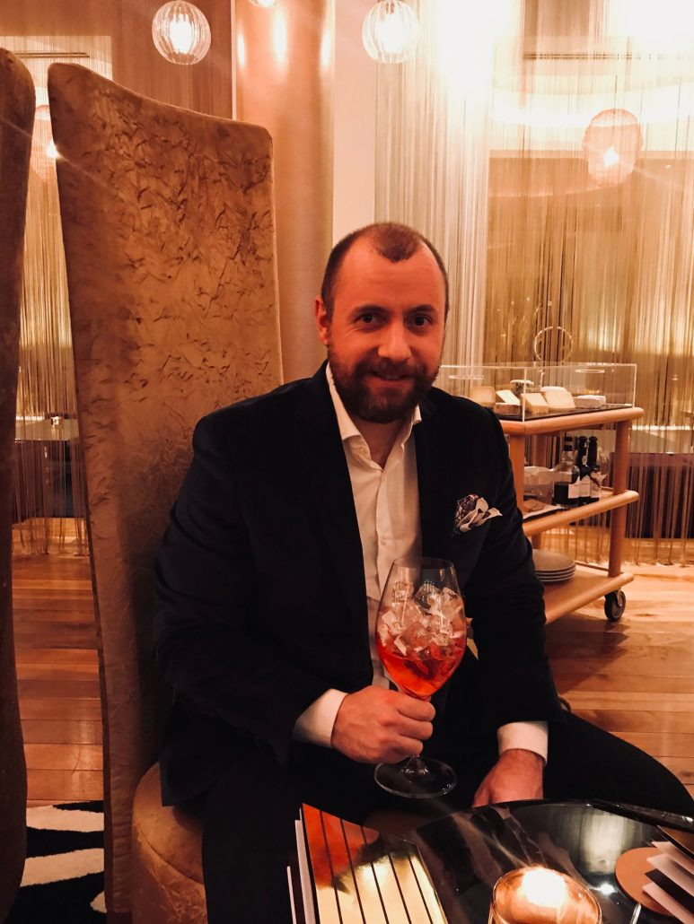 Negroni and Mulberry Bar Celtic Manor review