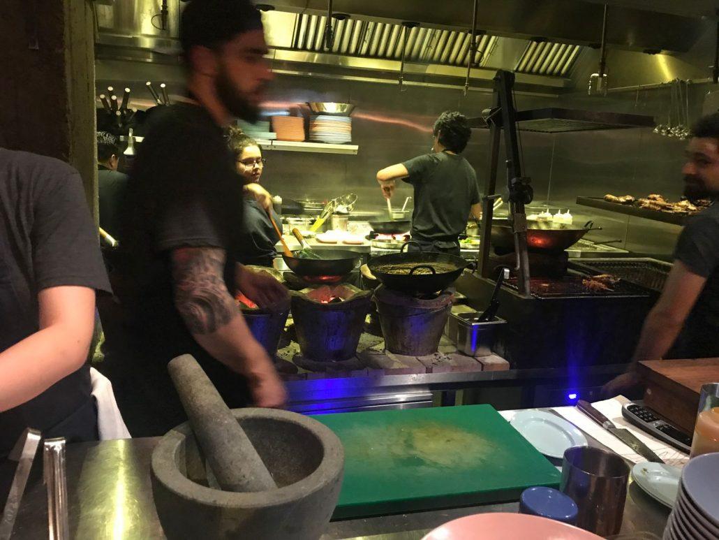 kitchen smoking goat bar shoreditch