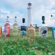 gin tasting on Flatholm Island with Cardiff Gin Club
