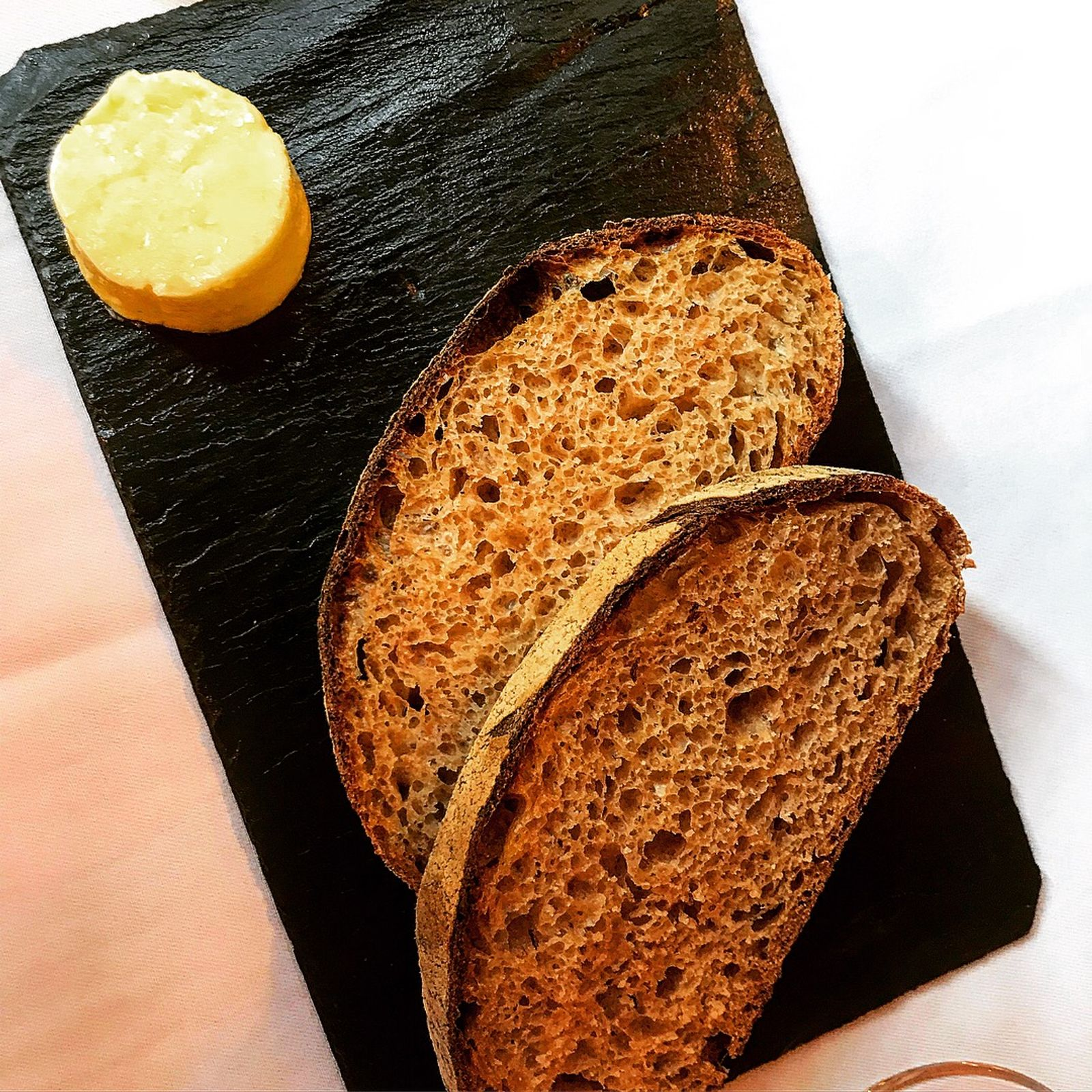 Sourdough bread and cultured butter - The Granary in Newtown