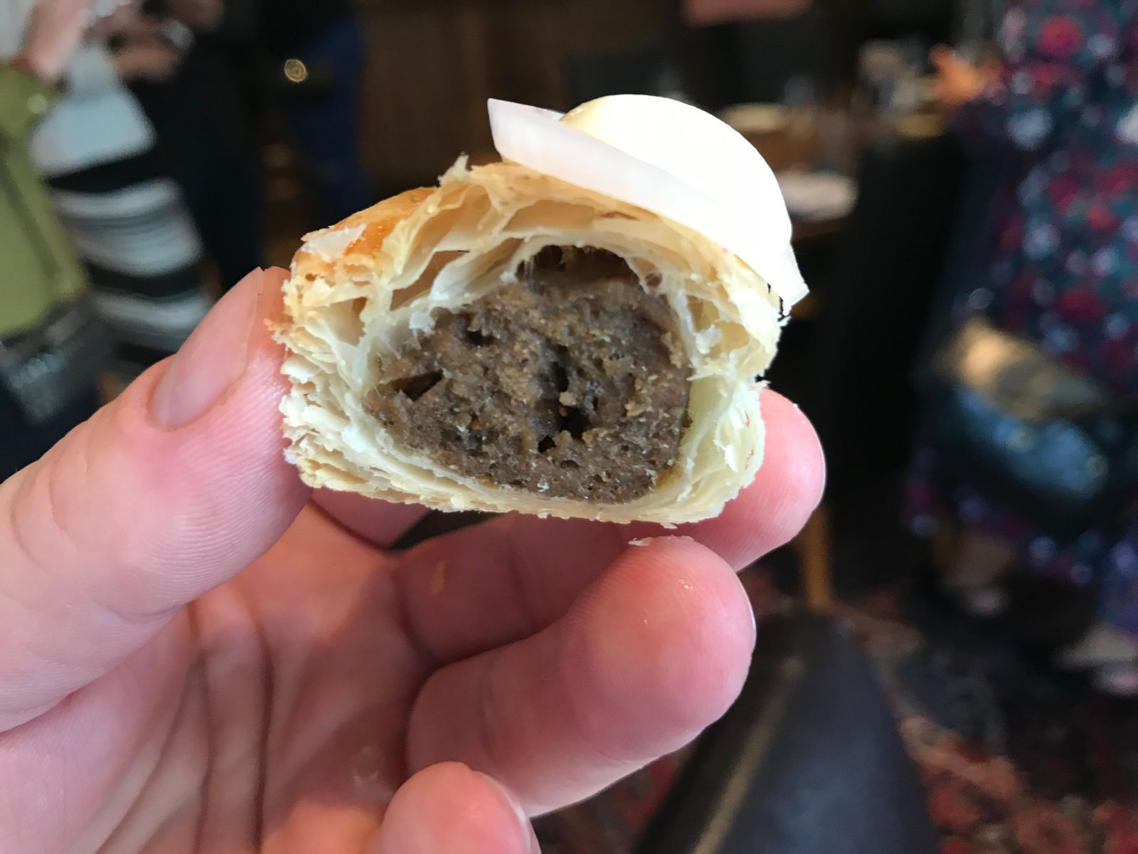Vexo insect sausage roll