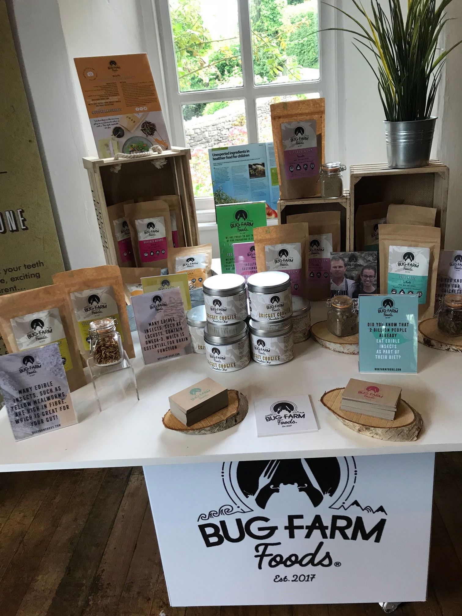 bug farm insect flours and food