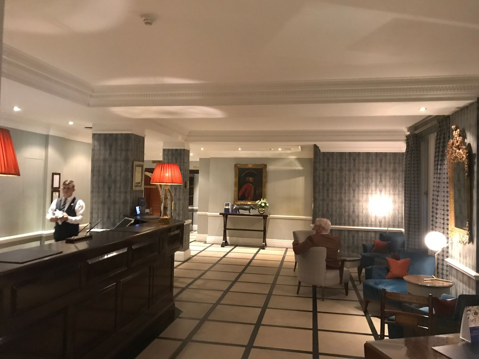 Dukes Hotel London Reception