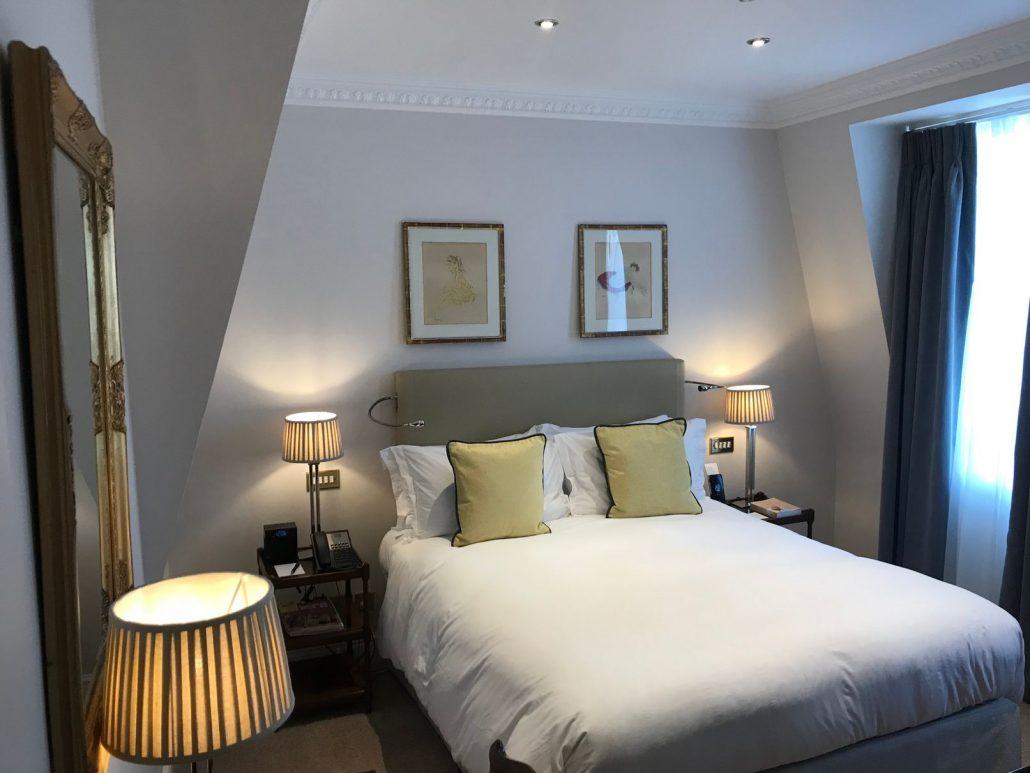 Standard room at Dukes Hotel London