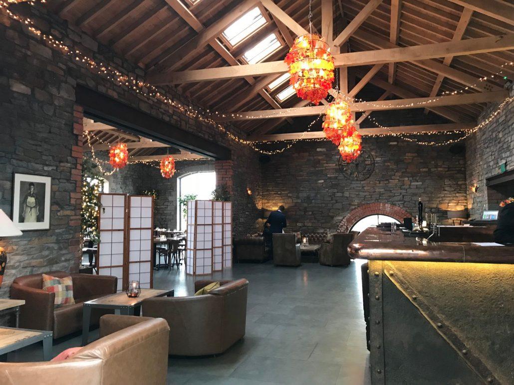 The bar at Sosban in Llanelli