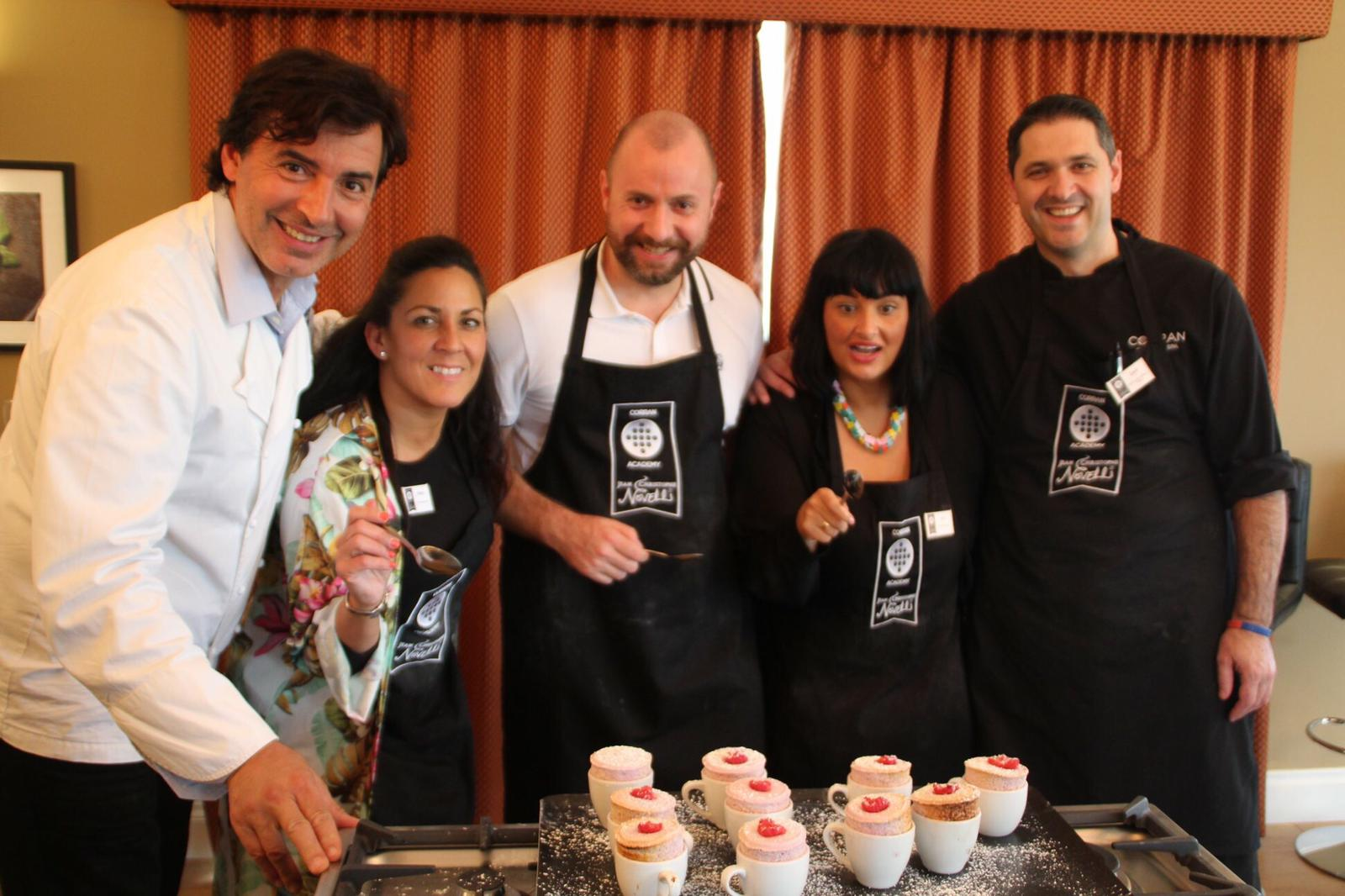 Soufle making with Jean Christophe Novelli at The Corran Resort