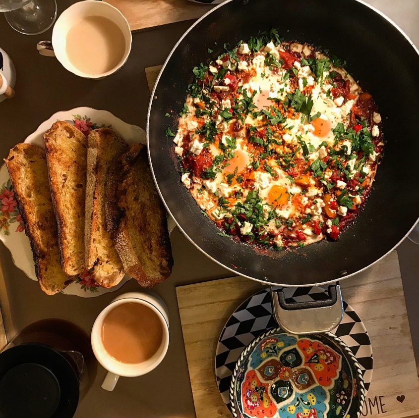 Shakshuka recipe - Turkish eggs