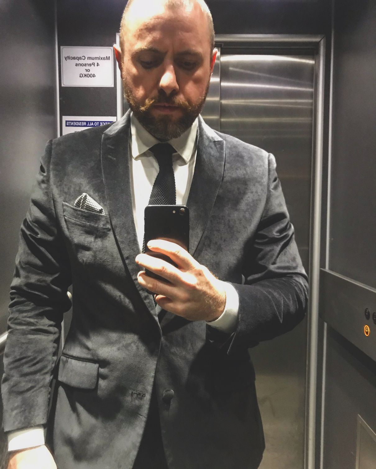 Bafta Cymru 2018 black tie outfit
