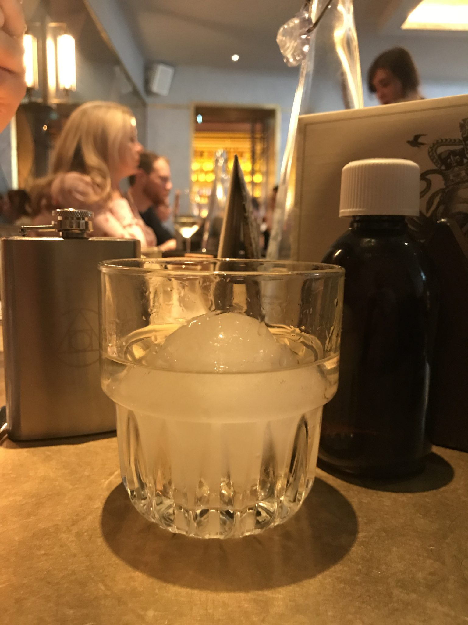 cocktail at The Alchemist Cardiff