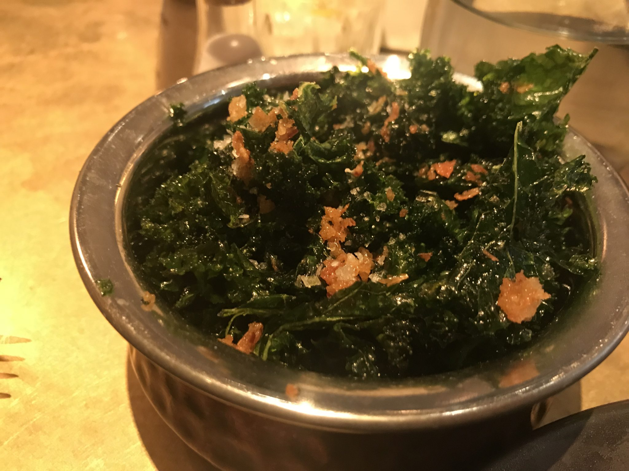 crispy kale side - The Alchemist