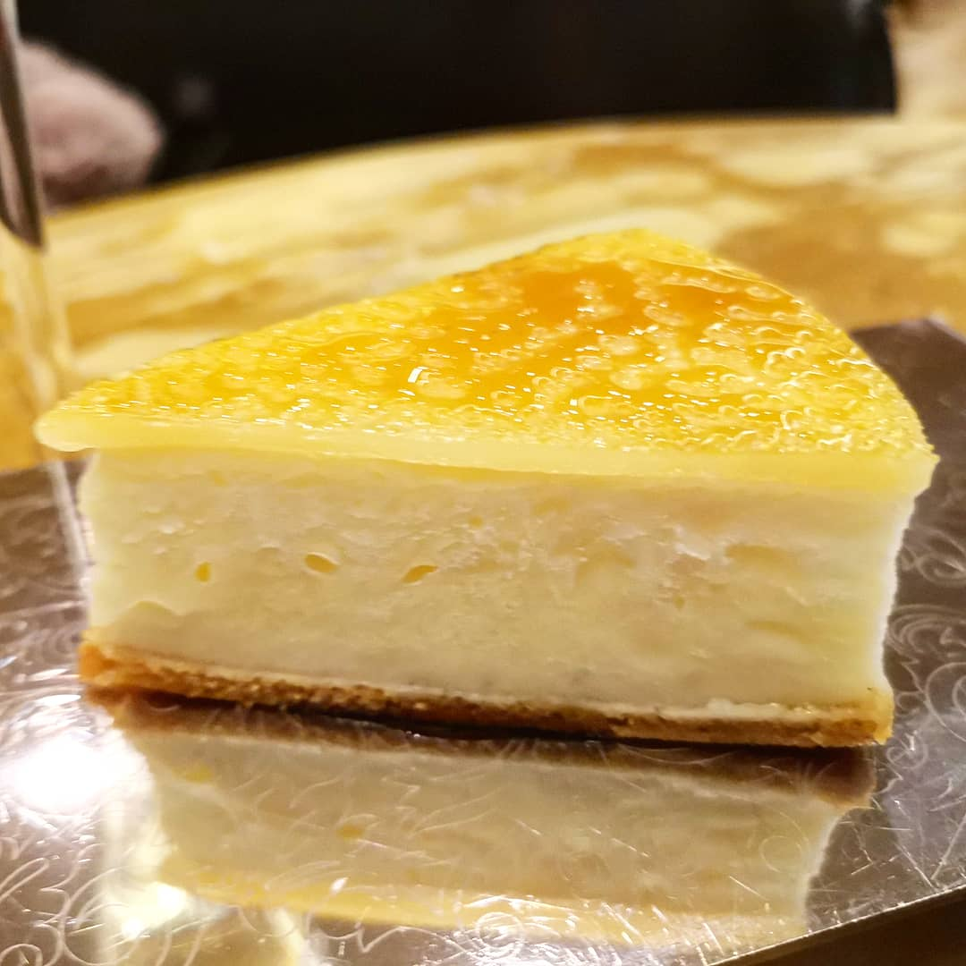 Albert Adria's Frozen Caramel and lemon cake - Cakes and Bubbles London