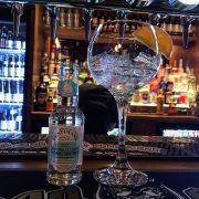 Gin and tonic at Head of Steam Cardiff