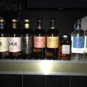 Nikka whisky and gin tasting at lab22 Cardiff