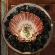Scallop dish at Host Copenhagen