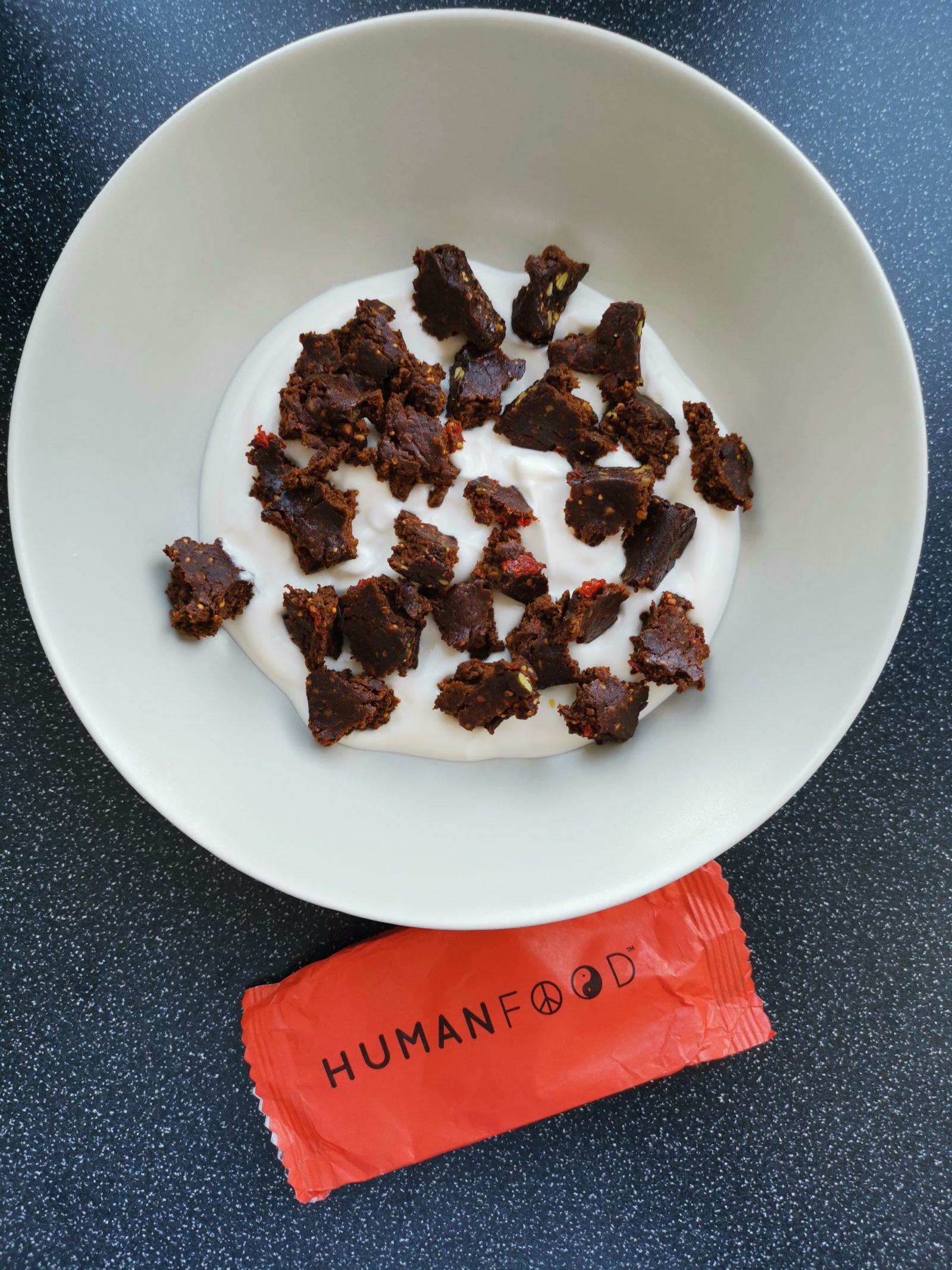 Red Human Food vegan nutrition bar review