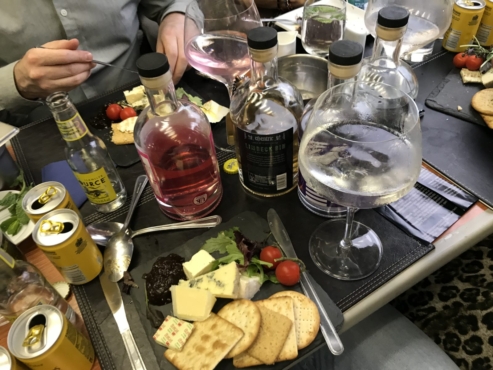 Welsh gin and cheese - Garald of Wales - Arriva Trains