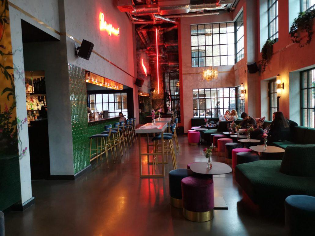 The Curtain Hotel Shoreditch bar