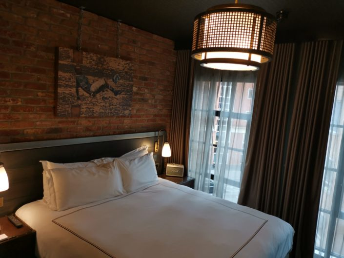 The Curtain Hotel Shoreditch bedroom