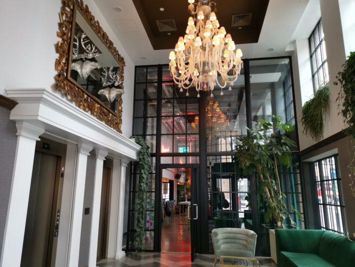 The Curtain Hotel Shoreditch reception
