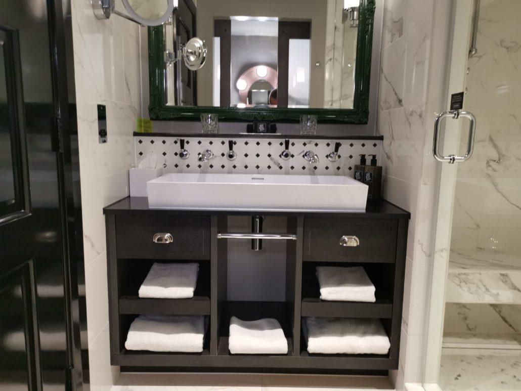 The Curtain Hotel Shoteditch bathroom