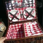 cheapest 4 person wicker picnic hamper from aldi