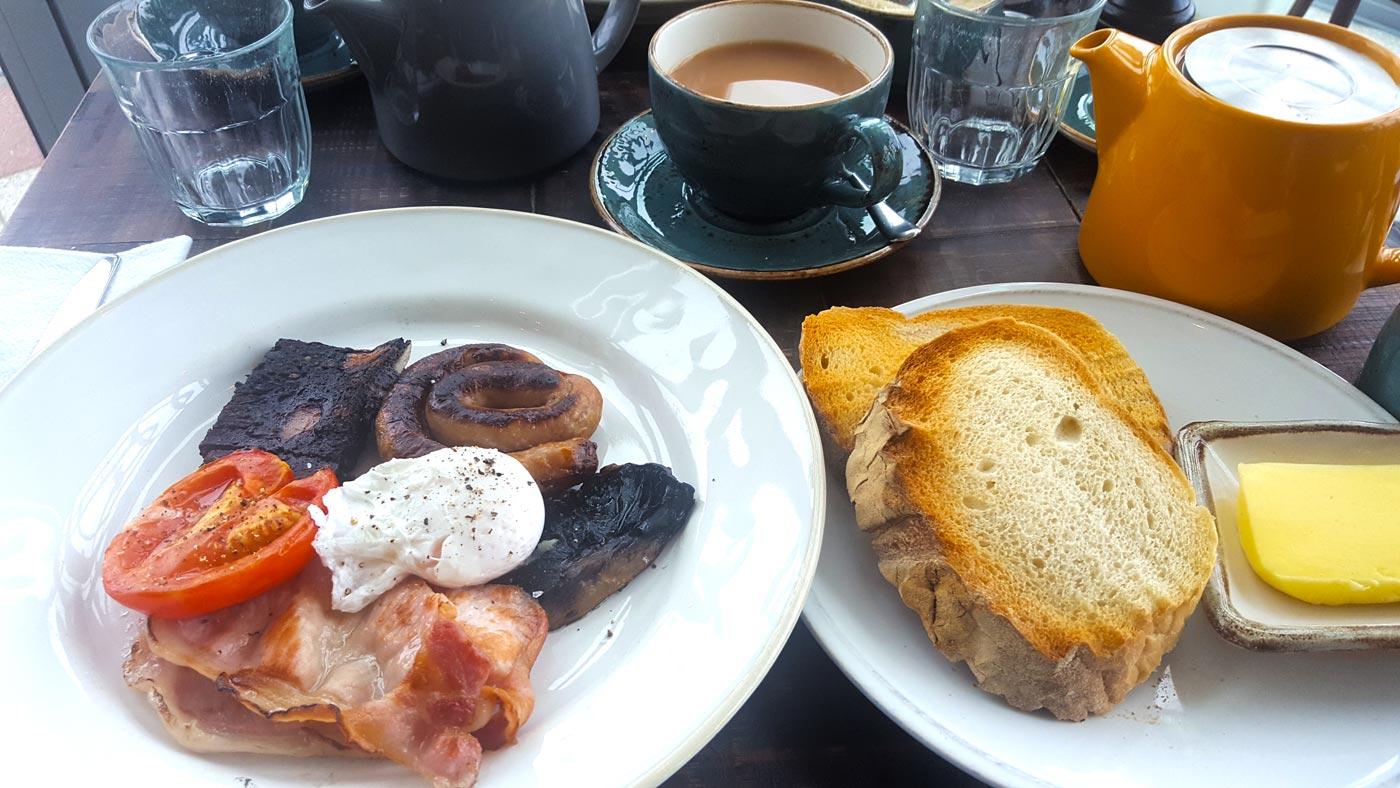 Bryn Williams at Porth Eirias, Colwyn Bay breakfast review