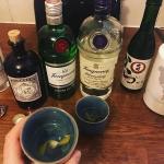 gin sake martini cocktail